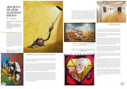 Del mur al llenç a la revista Artepoli