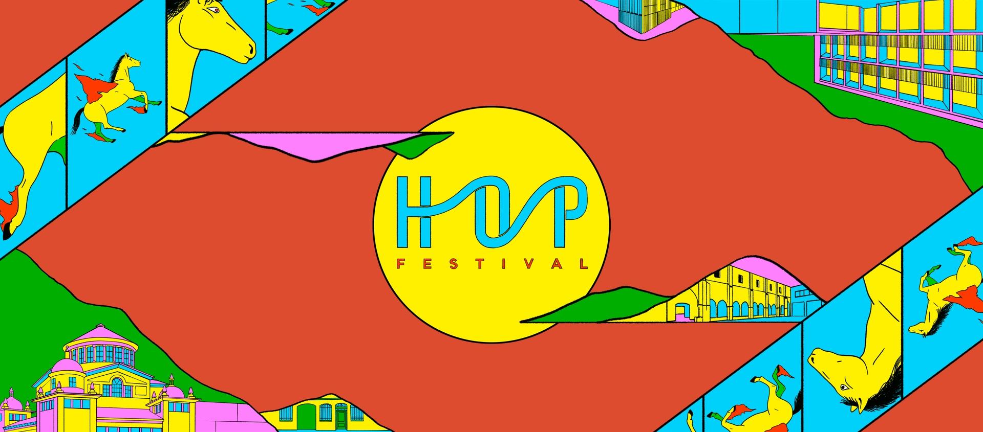 HOP festival poster